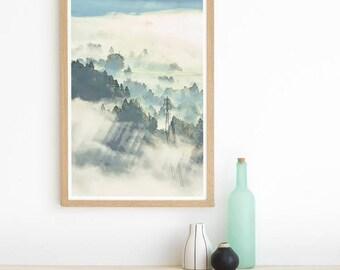 Mountain Range - Mountain Print - Mountain Print Art - Mountain Prints - Mountain Art - Mountain Wall Print - Mountain Photography