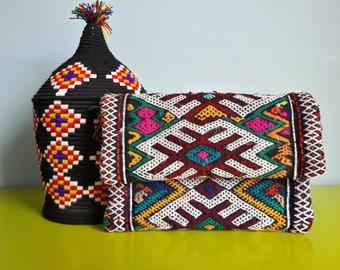 Kilim clutch bag - handmade