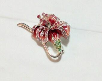 Vintage Lily Dress Pin