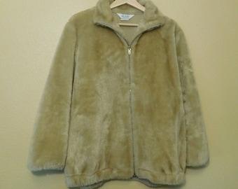 Vintage 80s Faux Fur Jacket