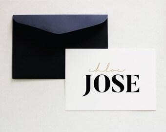 Logo Design, Minimalist Logo, Pre Made Logo, Chic Logo Design, Fashion Logo - Minimalist Branding - Chic Branding - Typography Logo
