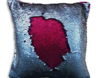 Mermaid pillow. Flip Sequin pillow. Mermaid reversible sequins pillow. Sequin pillow covers. Mermaid pillow cases. Mermaid decor