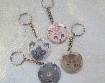 Kitten Keychains