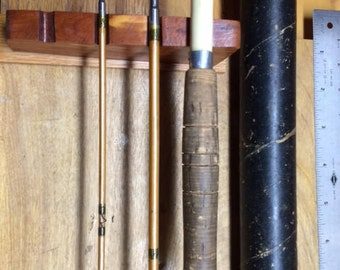 Vintage SouthBend 1940's bamboo fly rod - restored