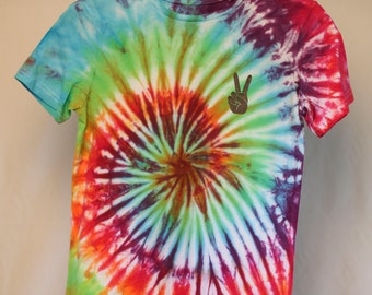 Size 10 - Ready To Ship - Unisex - Children - Kids - Tie Dyed T-shirt - Tee's - 100% Cotton - FREE SHIPPING within Aus
