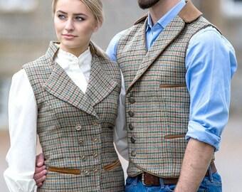 Lady's Regency Waistcoat (Aberfeldy Tweed)