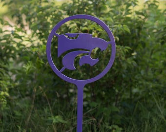 "Kansas State University Yard Decoration (36"") - K-State Powercat"