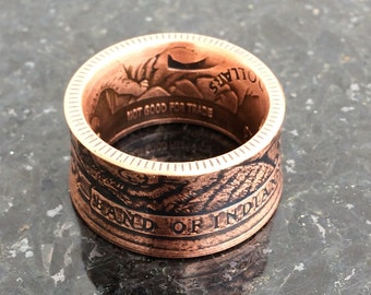 Los Coyotes coin ring