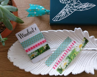 Washi Tape Sample 'Daisy' 4x 1m