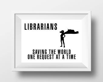 Librarians are superheroes
