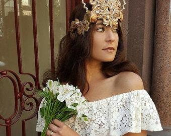 Bohemian Goddess Crown