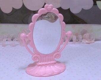 PINK MIRROR~*My Little Pony*~*G1~Lullabye Nursery Playset Accessory~Purple