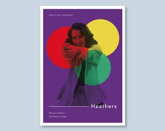 Heathers Alternative Poster