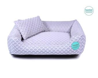 Modern Dog Bed Moroccan Pattern