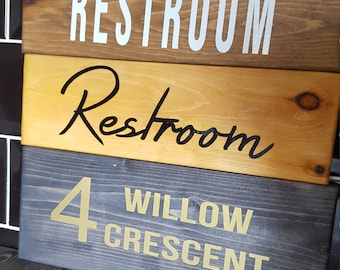 Sign handmade any colour any text, reclaimed pine, ready to hang shaby chic