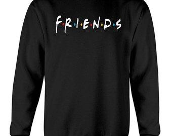 Friends tv show sweatshirt, friends tv show shirt, friends merchandise, friends tv show gift, central perk, friends the show, friends logo
