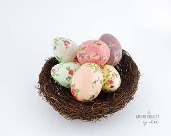 Easter home decor etsy easter centerpiecefake eggseaster home decoreaster eggkitchen decor negle Images