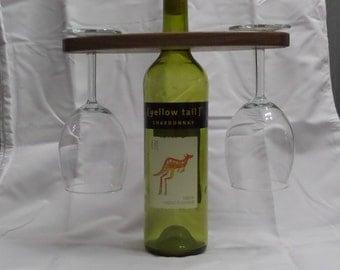 Wooden Wine Display