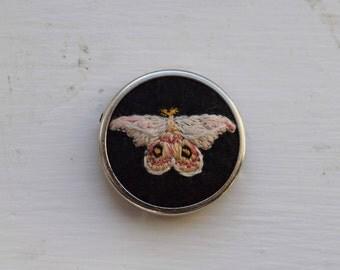 mini gum moth patch/pin
