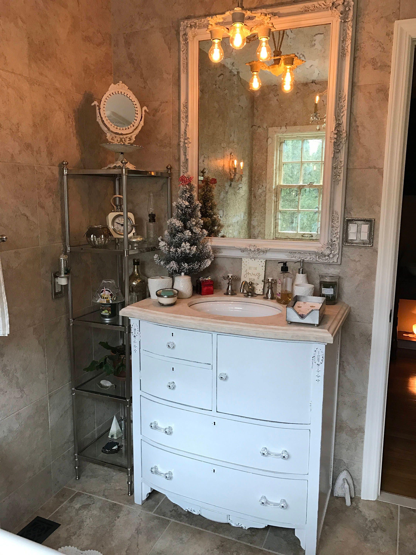 Bathroom vanity custom order to be modified from antique - Antique bathroom vanities for sale ...
