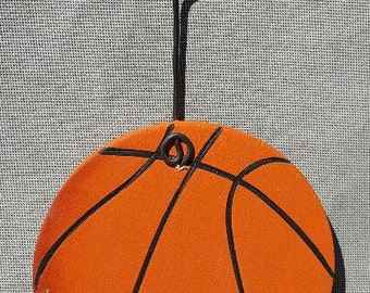 Basketball Ornament/Gift Tag/Party Favor -- SP4