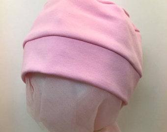 100% Cotton Child Bright Pink Hat