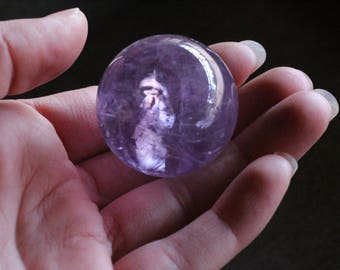 Amethyst Stone Sphere 36 mm 48156