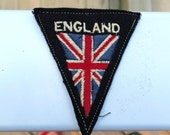 Vintage Embroidered England Travel Patch