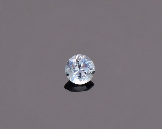 SALE EVENT! Ice Blue Sapphire Gemstone from Montana, Round, 0.47 cts., 4.4 mm.