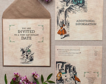 ALICE // Wedding Stationery // Suite