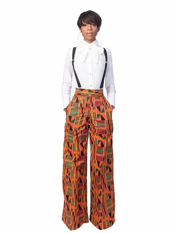 Tisha Kente Pants
