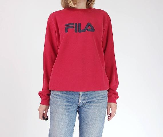 SALE - 90s Fila old-school sportswear sweatshirt / size S-L