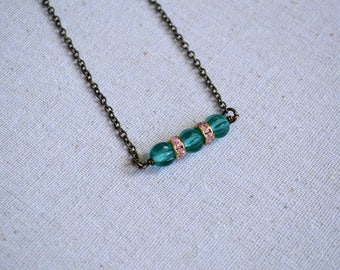 Minimalist Necklace, Layering Necklace, Boho Necklace, Gift Under 20 Dollar, Vintage Necklace, Bohemian Jewelry, Choker Necklace, Choker