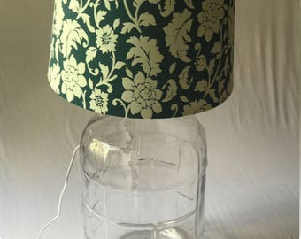 Glass Carboy Lamp