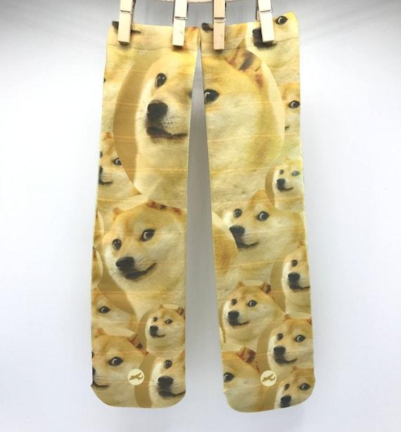 Doge Socks Meme Socks Doge Apparel Doge Clothing Funny