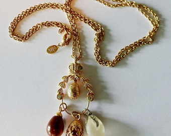Joan River's Charm Necklace