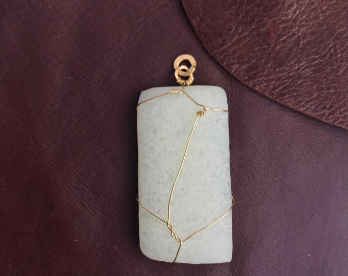 Featured listing image: Identity Stone Pendant Necklace