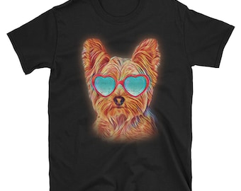 Yorkie Shirt, Yorkshire Terrier, Yorkie Gifts, Yorkie Mom, Yorkie Tshirt, Yorkshire Shirt, Yorkie T Shirt, Yorkie, Yorkie Clothes, Neon Dog