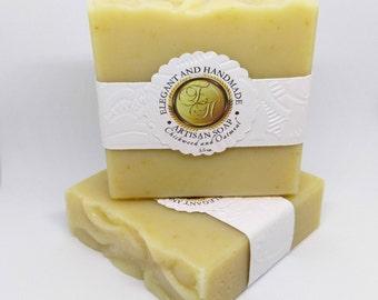 Chickweed and Oatmeal Handmade Soap