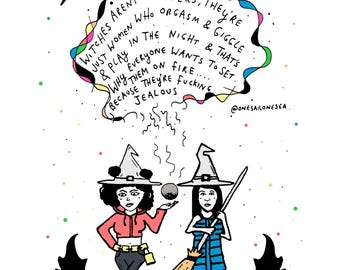 Broad City 'Witches' Print