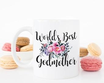 Best Godmother Ever Mug, Godmother Mug, Best Godmother Mug, Godmother Gifts, Gifts for Godmother, Godmother Coffee Mug, Fairy Godmother