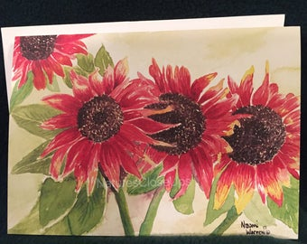 Original Fine Art Watercolor All Occassion Cards
