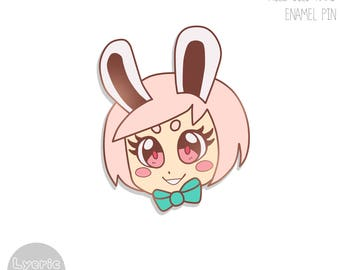 ENAMEL PIN | ORIGINAL| Bunny Girl