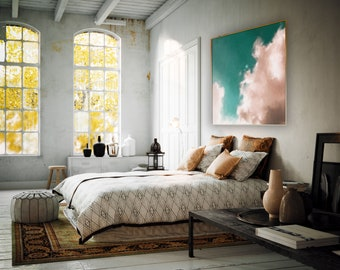 Large Wall Art, Abstract painting, Large abstract, Cloud Painting, Large Decor Painting, Large wall art, Acrylic Large Art, Large Painting
