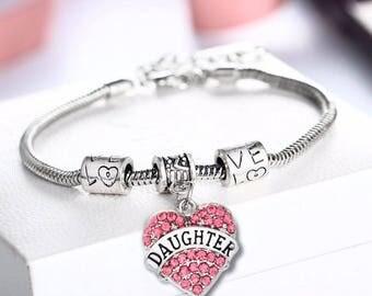 Heart shape bracelet