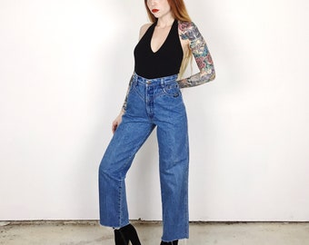 High Waisted Rocky Mountain Western Mom Jeans // Women's size 27 28 7 8