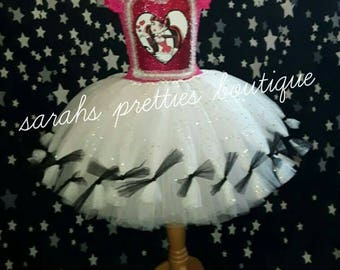 Monster high inspired tutu dress