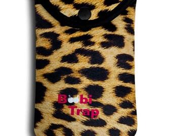 """BoobiTrap - Leopard (Large - 6""""L X 4 1/8""""W) Item 502"""