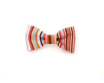 Desert Storm Dog Bow Tie