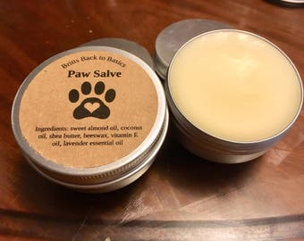 Paw Salve 1oz and 2oz available